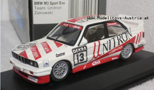 BMW ZAKOWSKI Minichamps diecast car ミニカー
